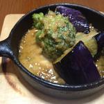 南部鉄器の野菜ステーキ