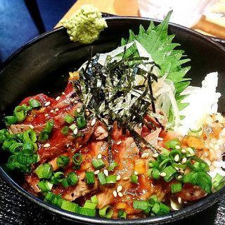 桜タタキ丼(もつ真路 赤坂店 )