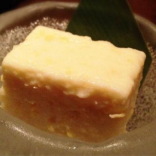 もろこし豆腐(西麻布 福躍 (ニシアザブフクオドリ))