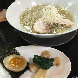 鶏そば昆布の汐(ガチ麺道場 )