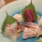 鮮魚の7点盛り