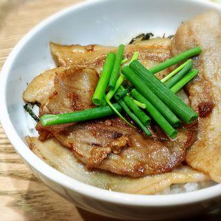 笹豚 三枚肉の豚丼(米農家ダイニングTam-bo)