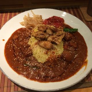 スパイスチキンカレー(スパスパスパイシーカレー (Spa Spa Spicy Curry))