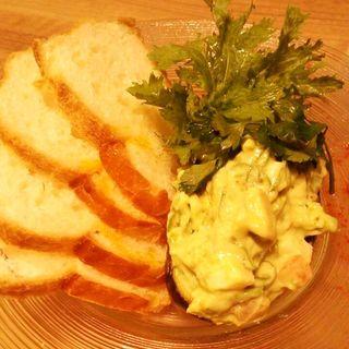 アボカドとサーモンのタルタル(美山cafe 梅三小路店 (ミヤマカフェ))