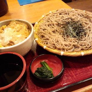 親子丼定食(おらが蕎麦 横浜YBP店 )