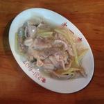 チートの生姜炒め(第一亭)
