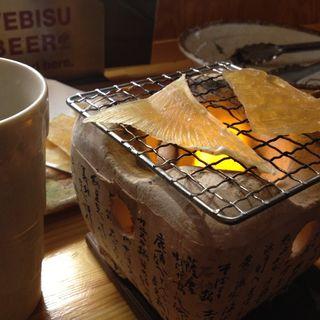 エイヒレ炙り(ほっこり酒場亜もん)