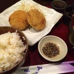 日替わり定食:コロッケ定食(旬魚菜酔膳 一期屋 )