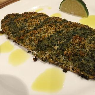 秋刀魚のパン粉焼き(江坂 (えさか))