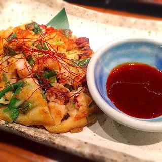 タコのチヂミ(海宴丸武蔵小杉店)