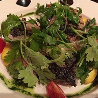 炙り鰹のカルパッチョ(ルミディ (le midi))