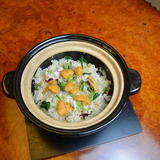 タコ・ウニ炊込み御飯(百菜 赤坂 (ヒャクナ))
