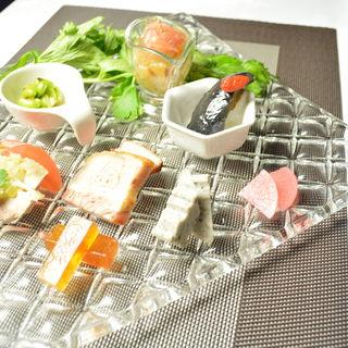 冷菜5種盛り合わせ(GINZA芳園 )