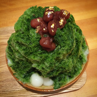 特製抹茶かき氷(京洋食 あかつき (【旧店名】kitchen ヨネムラ))