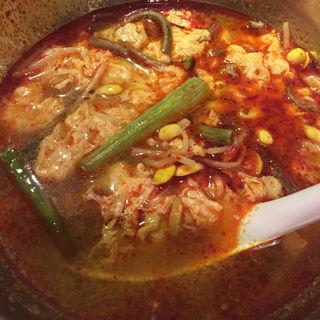 ユッケジャンスープ(焼肉やる気 洛西店 )