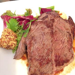 牛もも肉のグリル(京都ダイナー)