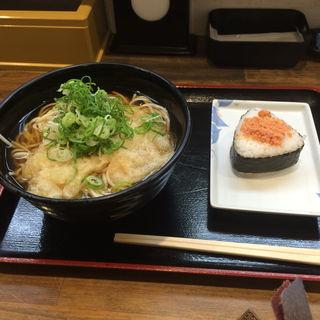 天ぷらそば 大盛(まねきのえきそば グランフェスタ店 )