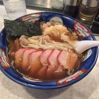 チャーシューミックスワンタン麺(たんたん亭本店)