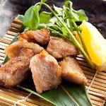イベリコ豚の燻し焼き