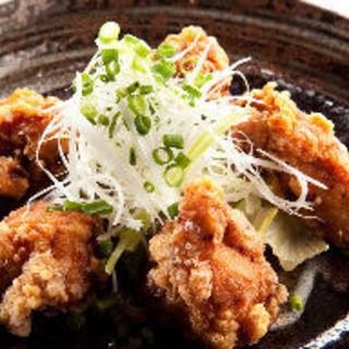 鶏スモークの唐揚げ(炭火炙り焼と地酒 いぶしぎん 千葉店 )