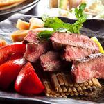 ヒレ肉の炭火焼き