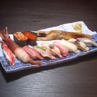 本日の握り寿司(鮨ダイニング 一沁)