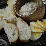 薫製卵のポテトサラダ