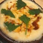 小芋と小えびのチーズグラタン