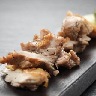 錦爽鶏の天然塩焼(音波 (おとは))