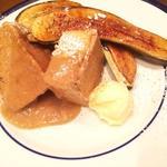 メープルバナナフレンチトースト
