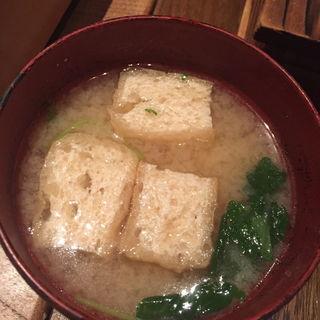 味噌汁(恵比寿魚金)