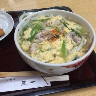 鶏なんばんうどん(手打麺舗丸一 )