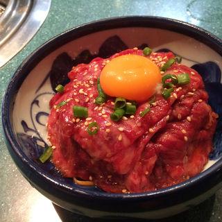 限定ユッケ丼(焼肉ハウス 大将軍 桜木町店 )