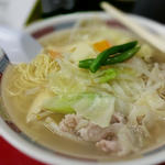 タンメン(野菜ソバ)塩味