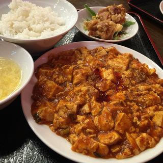 中華セット(四川麻婆豆腐)(中華料理 唐韻 (トウイン))