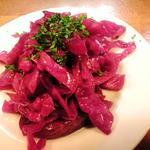 赤キャベツのサラダ