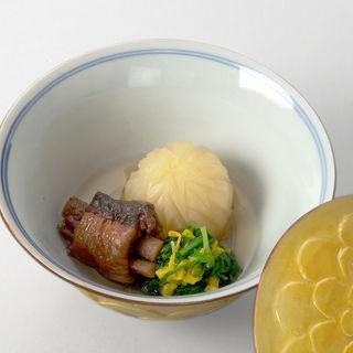 鮮魚の煮物 花の団子(いしづか )