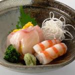 お造り 瀬戸内海の地魚3種