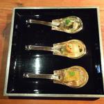 スプーン盛 秋彩3種