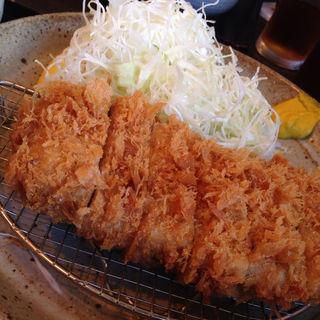 ヒレかつ膳「竹」120g(ご飯・味噌汁・お新香付き)(とんかつ武信)