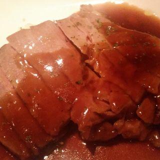 究極の68度の豚ロース ポン酢バターソース(kawara CAFE&DINING 恵比寿 (カワラ カフェアンドダイニング))