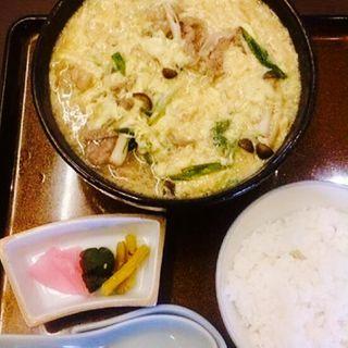松阪牛肉玉子とじうどん(平尾屋 )