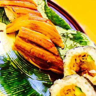 あなご寿司(海の幸 魚長 (うみのさちうおちょう))