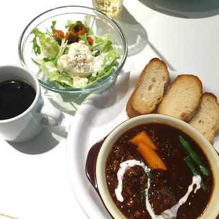 ランチ ビーフシチュー(ジョグール カフェ (Yogour Cafe))