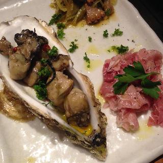 前菜タパス 人気の3種盛り(フィッシュバール 篤 自由が丘店 )