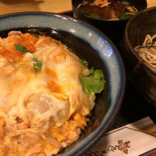 親子丼定食(天一更科 (テンイチサラシナ))