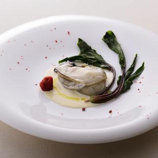 牡蠣のクリームソテー(イルバンビナッチョ )