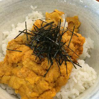雲丹丼(おばんざいバー 博多漁家 しらすくじら ウメキタフロア店 )