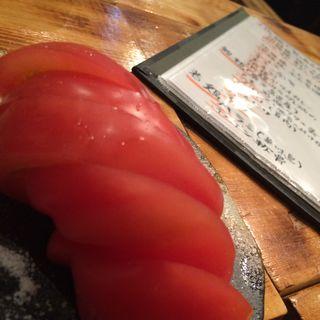 トマトスライス(地鶏ダイニング番長)