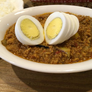 キーマカレー(全部入り)(食堂 玄氣 (げんき))